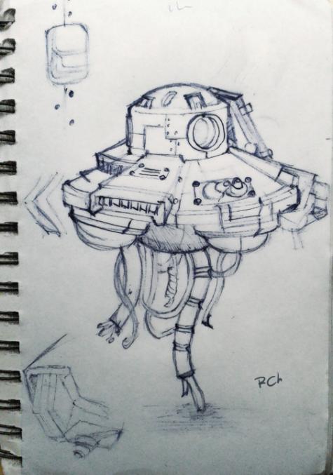 2ww UFO. DrawingPad
