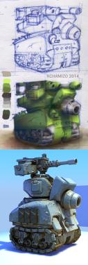 Tank creation. WIP