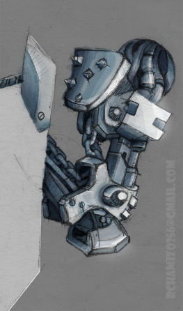 Detail mech arm.DrwingPad+PS
