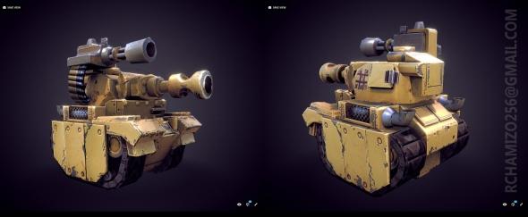 Leoger Medium Tank SKETCHFAB